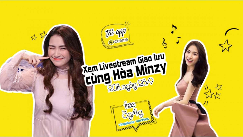 Hòa Minzy livestream trên CeeMe, tiết lộ kế hoạch quay trở lại đường đua VPop