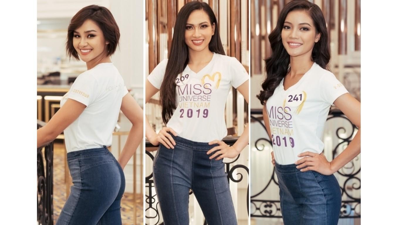 Lộ diện 10 thí sinh đầu tiên chính thức vào Top 60 Hoa hậu Hoàn vũ 2019