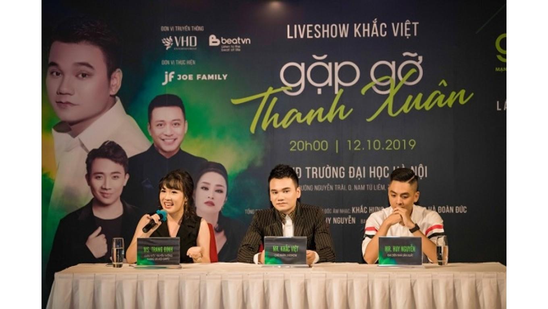 Tuấn Hưng, Trấn Thành, Đông Nhi đồng hành trong liveshow miễn phí của Khắc Việt