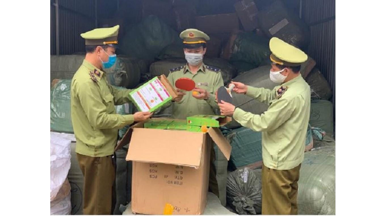 Xử lý 6 cơ sở vi phạm kinh doanh hàng nhập lậu tại Bưu cục Tân Thanh, Lạng Sơn